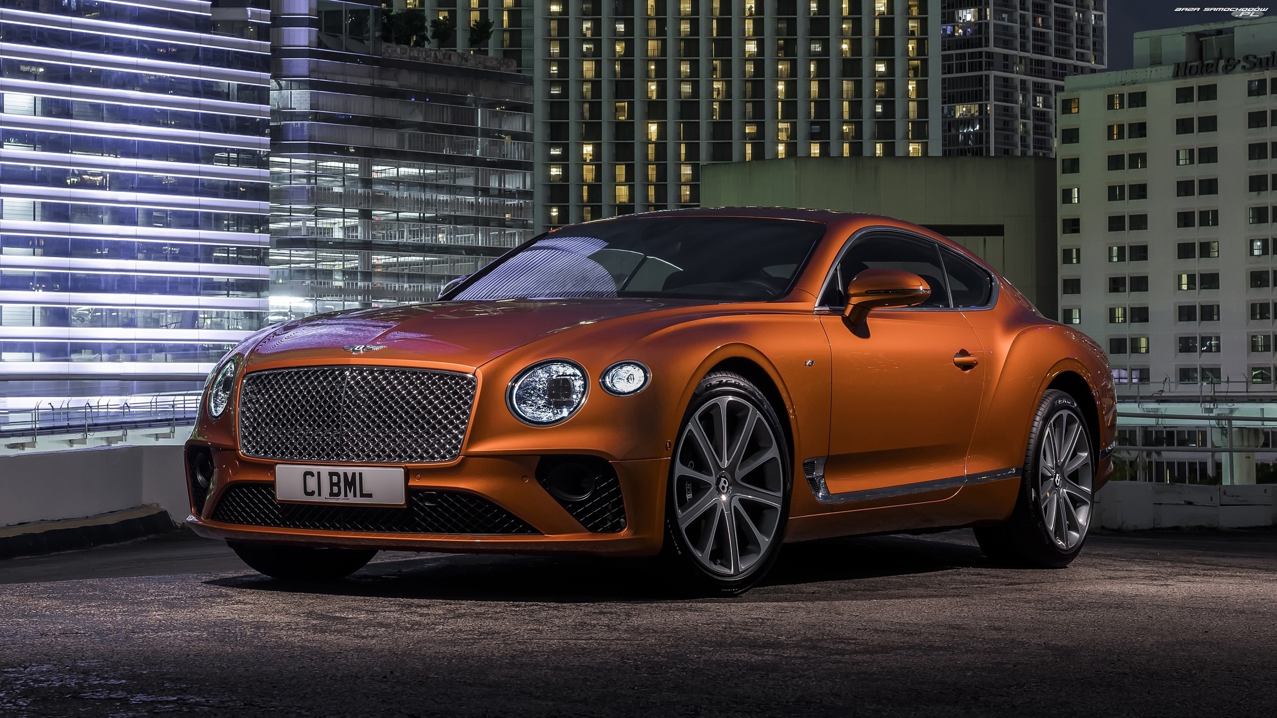 Coupe, Brązowy, Bentley Continental GT V8