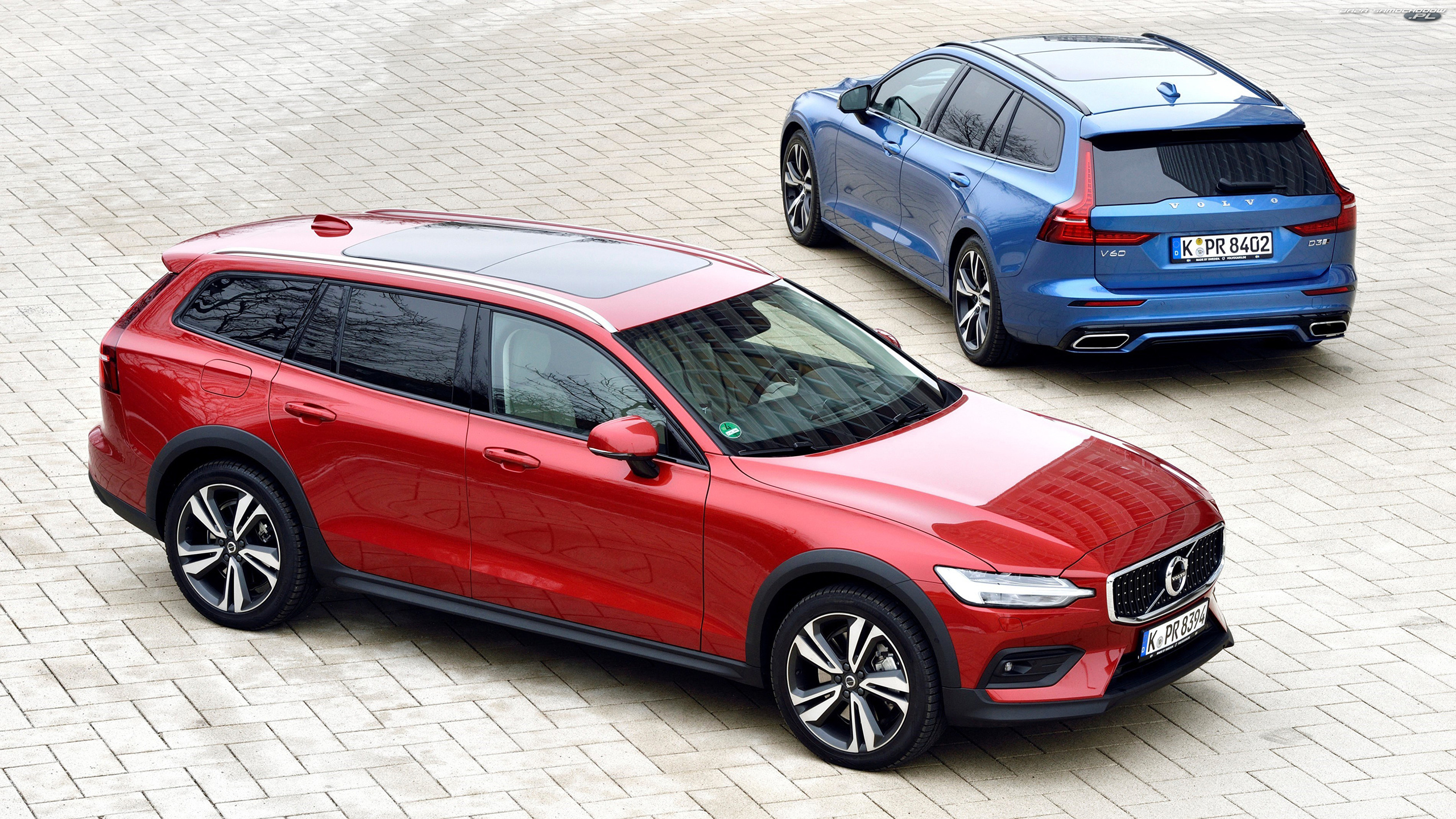 Cross Country, Dwa, Volvo V60