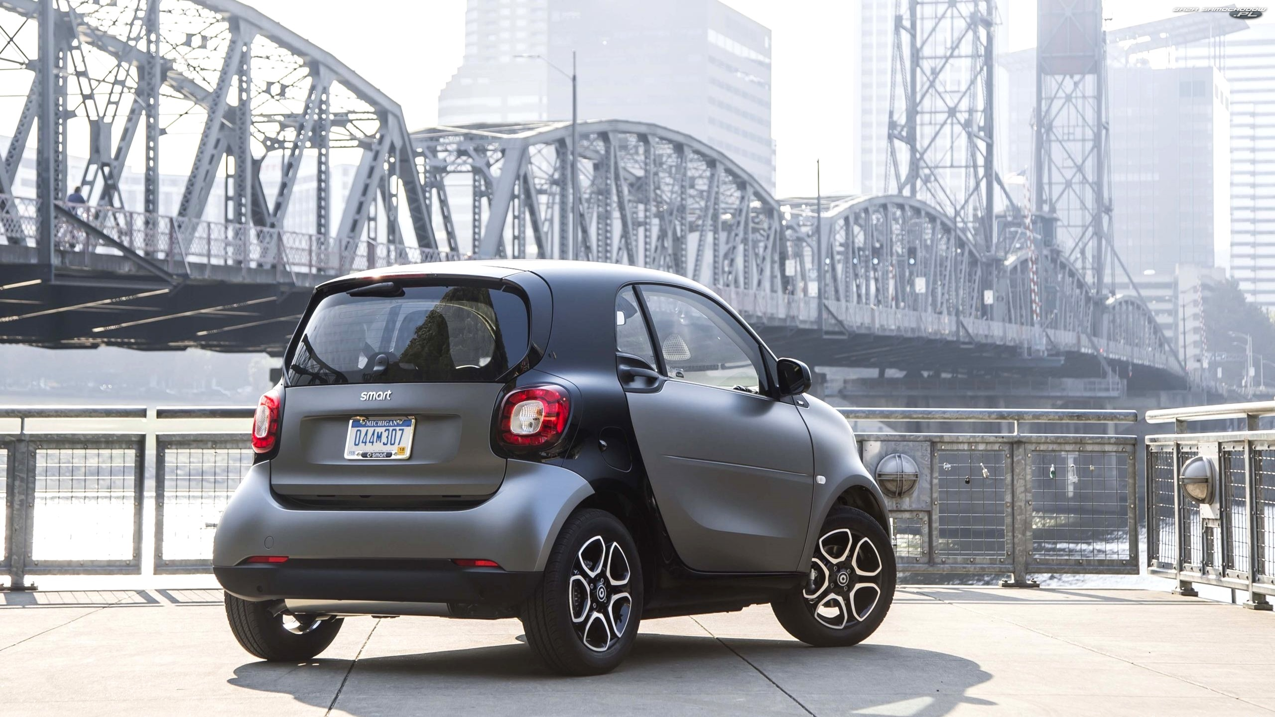 Fortwo, Most, Smart, Tył