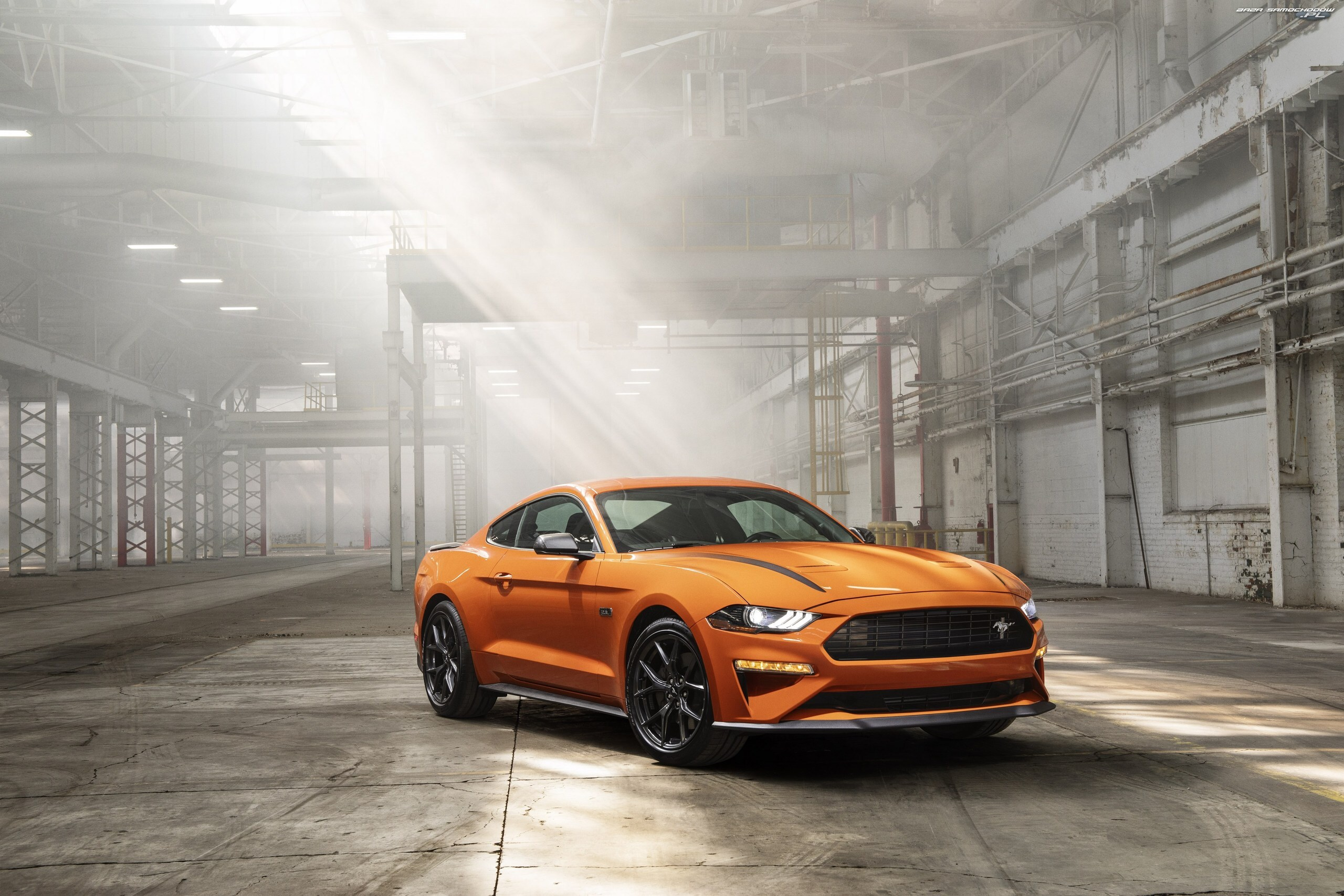 High Performance Package, Pomarańczowy, Ford Mustang