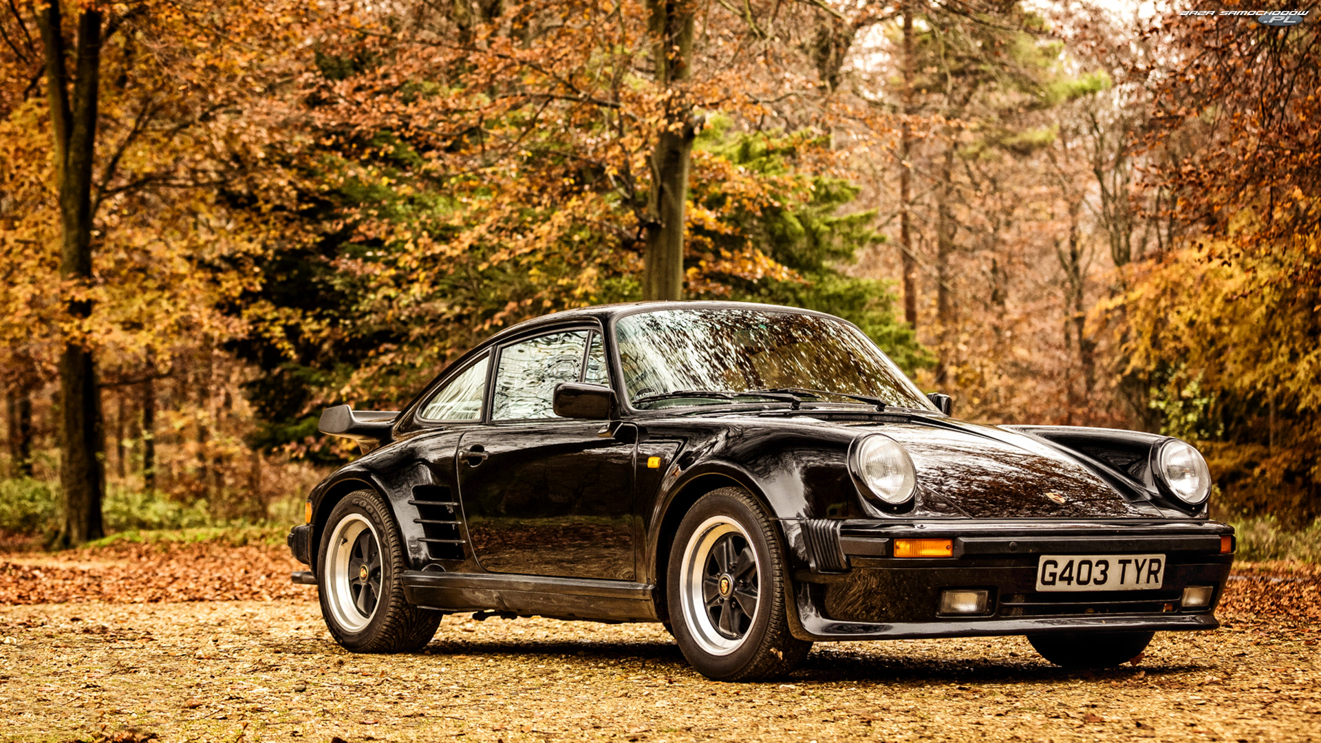 930 Limited Edition, Czarne, Porsche 911 turbo