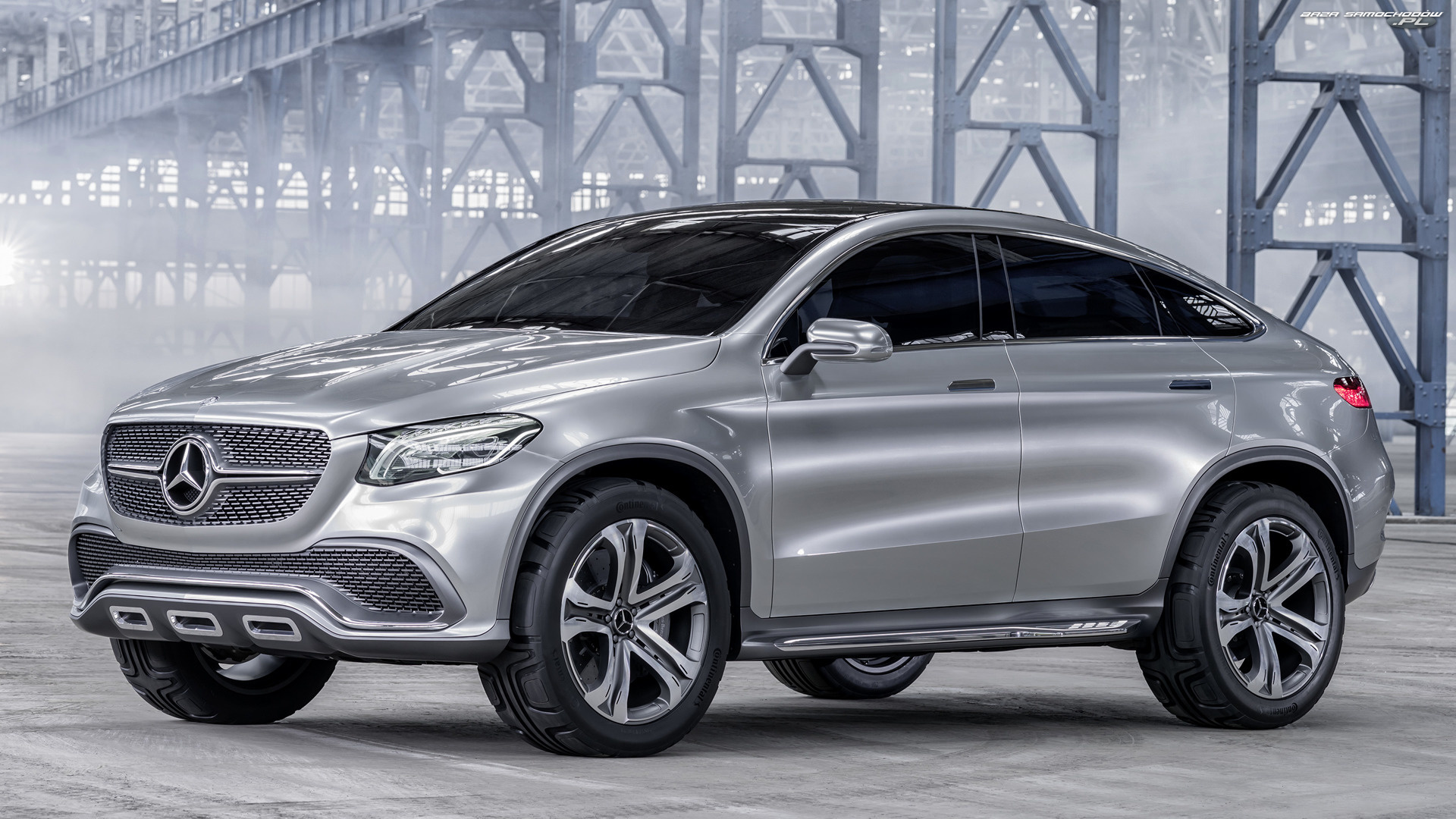 Mercedes-Benz Concept Coupe SUV, Prototyp