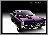1967, Car, Pontiac GTO, Muscle