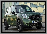 2015, Zielony, Mini Countryman