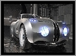 BMW, Prototyp, Srebrne, Mille Miglia Coupe