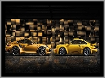 Samochody, Porsche 911 Carrera RS, Dwa, Porsche 911 Turbo S Exclusive Series