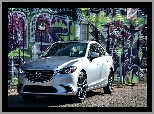 2016, Graffiti, Mazda 6 Grand Touring, Ściana