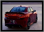 Hellcat, 2018, Dodge Charger SRT, Tył