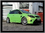 Wolf Racing, Zielony, Ford Focus II RS
