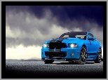 Shelby, Chmury, Ford Mustang, GT-R500